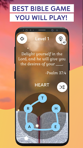 Bible Word Puzzle Games: Connect & Collect Verses  screenshots 1