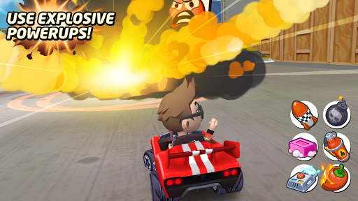 Boom Karts - Multiplayer Kart Racing  screenshots 2