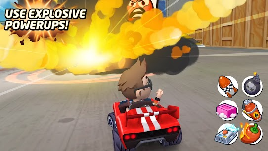 Boom Karts – Multiplayer Kart Racing Mod Apk 1.7.0 (All Cars Are Open) 2