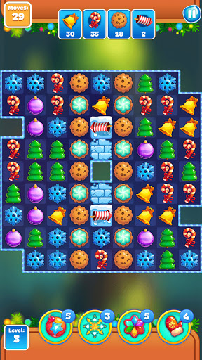 Christmas Sweeper 3 - Puzzle Match-3 Game android2mod screenshots 6