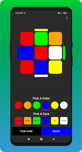 Cube Cipher - Rubik's Cube Solver and Timer apkdebit screenshots 4