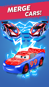 Merge Neon Car  Car Merger Apk Download 2021 2