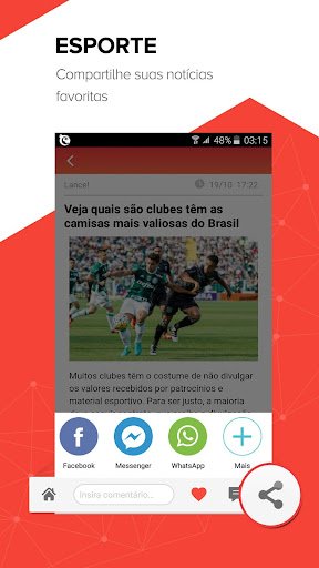 Central das Notícias-Esporte, fofocas dos famosos modiapk screenshots 1