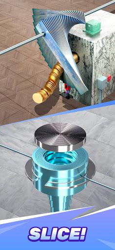 Steel Slicing ASMR apktram screenshots 3
