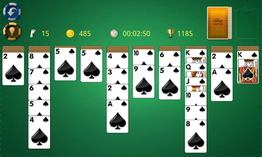 AE Spider Solitaire 3.1.1 screenshots 2