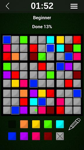 colordoku - color sudoku screenshot 3