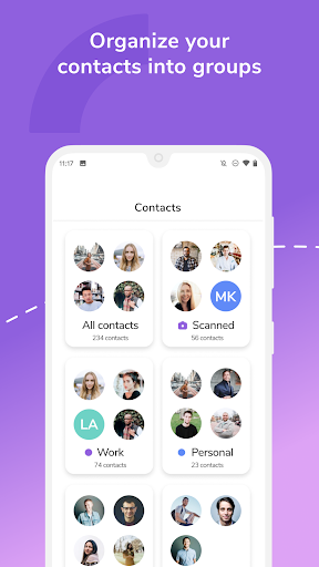 HiHello: Digital Business Card Maker and Organizer android2mod screenshots 8