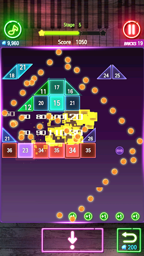 Bricks Breaker Melody 1.0.34 screenshots 5