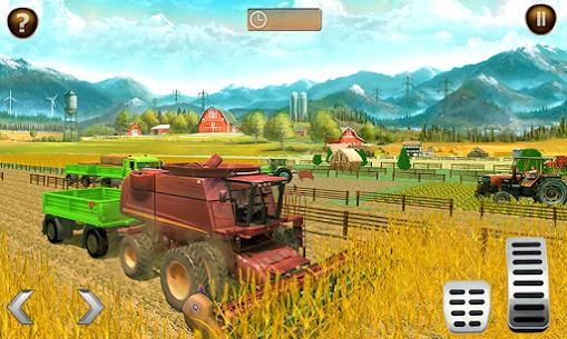 Canada' s Mega Organic Tractor Farming SIM 2019 Apk Download 3