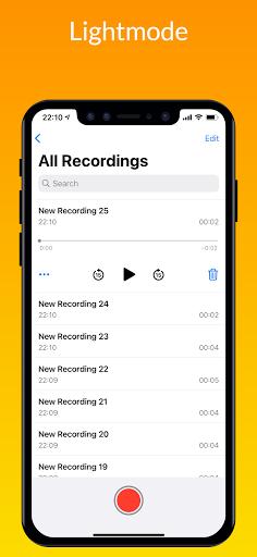 iVoice - iOS Voice Recorder, iPhone Voice Memos android2mod screenshots 5