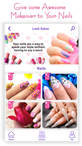 Nail Art Salon - New Manicure & Makeup Games 2021 1.0 screenshots 1