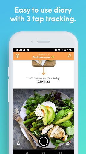 Ate - the Mindful Food Journal and Photo Diary Latest screenshots 1
