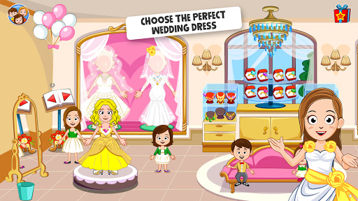 My Town: Wedding Day - The Wedding Game for Girls android2mod screenshots 3