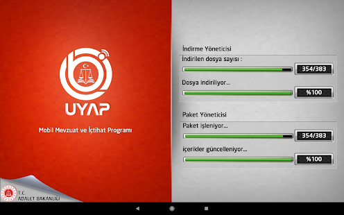 UYAP Mobil Mevzuat Screenshot