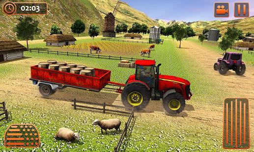 Farm Tractor Cargo Driving Simulator 20 screenshots 3