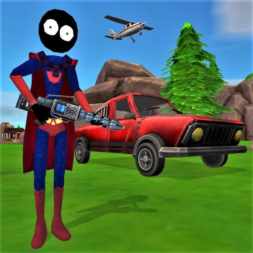 Stickman Superhero