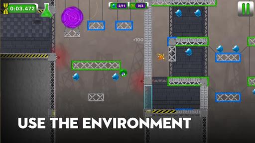 Code Triche Lab Chaos - Action packed platforming speedrun APK MOD (Astuce) screenshots 5
