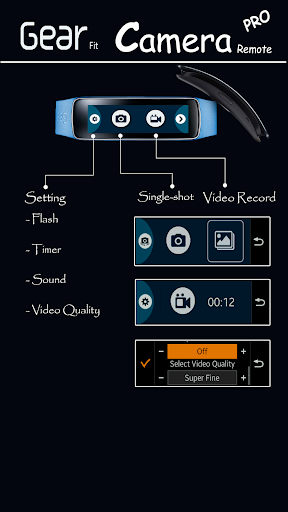 Gear Fit Camera Remote Pro For PC Windows (7, 8, 10, 10X) & Mac Computer Image Number- 5