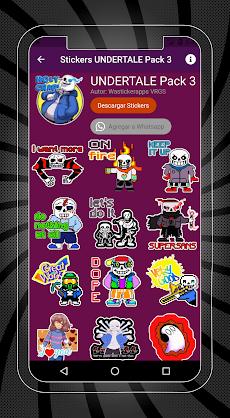 Stickers de UNDERTALE y DELTARUNE para WhatsAppのおすすめ画像3