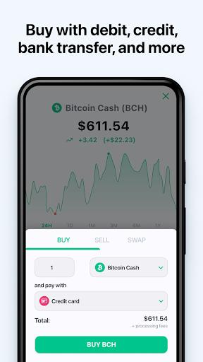 Bitcoin Wallet: buy BTC, BCH & ETH screenshots 2