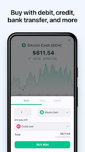 Bitcoin Wallet: buy BTC, BCH & ETH 7.0.7 screenshots 2