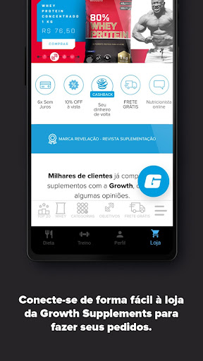 Growth - Dieta e Treino android2mod screenshots 6