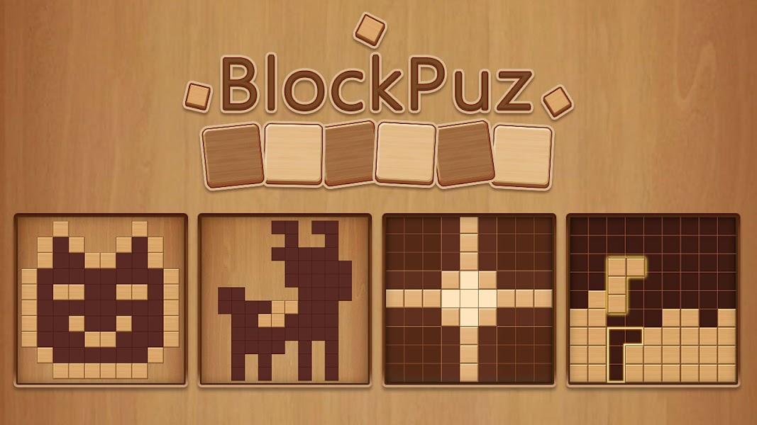 BlockPuz: Jigsaw Puzzles &Wood Block Puzzle Game