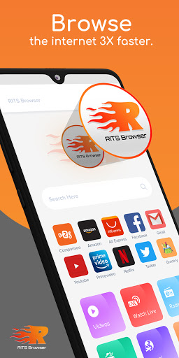 Fast, Safe & Super Browser for your Android Mobile android2mod screenshots 1