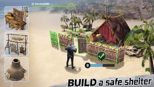 LOST in Blue: Survive the Zombie Islands apktram screenshots 4