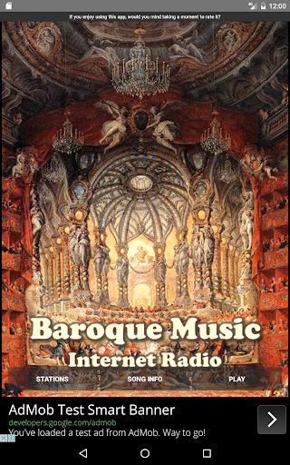 baroque music - internet radio screenshot 3