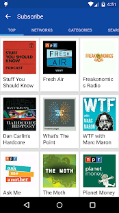DoggCatcher Podcast Player Screenshot