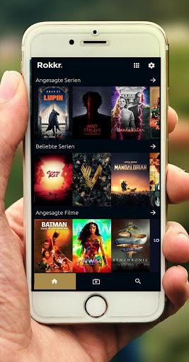 RoKKr TV App Guide screen 1