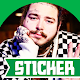 Post Malone Stickers for Whatsapp & Signal para PC Windows