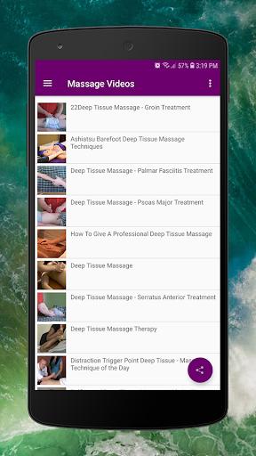 Body Massage Videos - Hot Stones and Full Body  screenshots 3