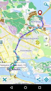 Map of Stockholm offline