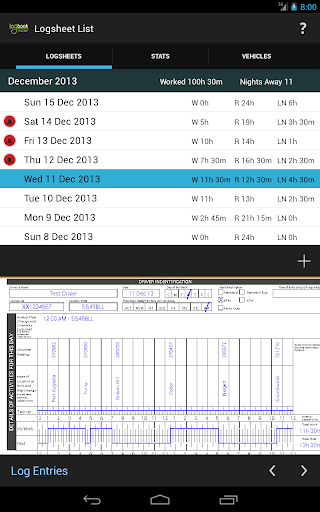 Logbook Checker  screenshots 6
