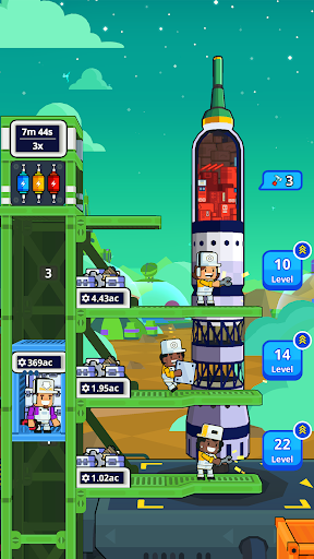 Rocket Star - Idle Space Factory Tycoon Game 1.45.0 screenshots 6