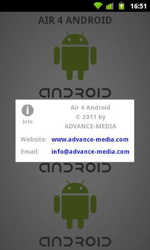 Air 4 Android 1.1 Developer Screenshots 5