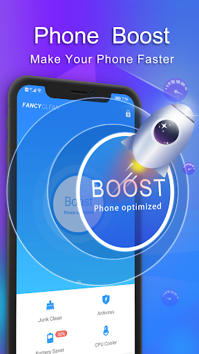 Fancy Cleaner 2021 - Antivirus, Booster, Cleaner 5.1.5 Screenshots 2