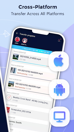 Zapya - File Transfer, Share Apps & Music Playlist screen 2