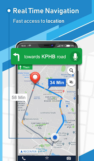 Offline GPS - Maps Navigation & Directions Free 1.15 Screenshots 1