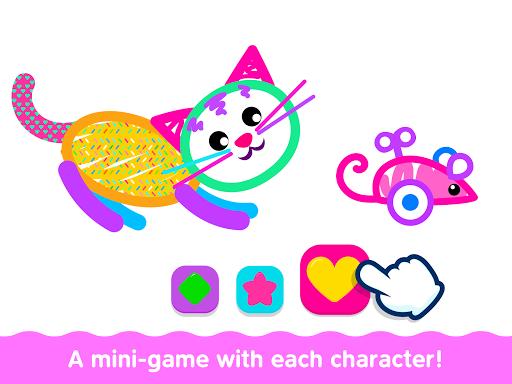 Bini Toddler Drawing Apps! Coloring Games for Kids apktram screenshots 14
