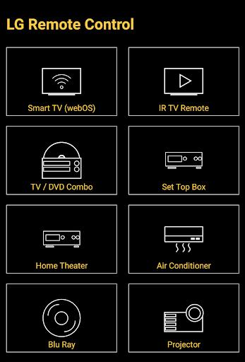 Remote for LG TV / Devices : Codematics 1.5 Screenshots 1