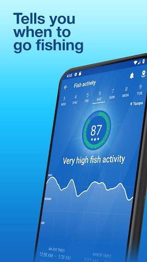 Fishing Points: GPS, Tides & Fishing Forecast modavailable screenshots 2