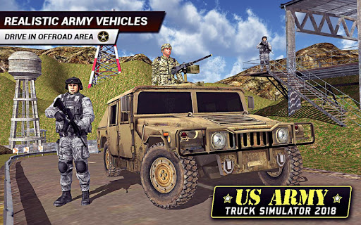 US Army Truck Driving 2018: Real Military Truck 3D apkpoly screenshots 3