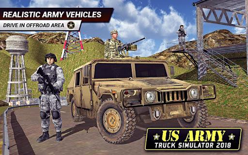 US Army Truck Driving 2021: Real Military Truck 3D apktram screenshots 3