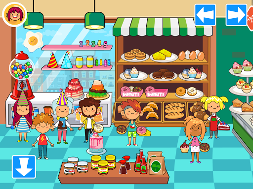 My Pretend Grocery Store - Supermarket Learning  screenshots 2