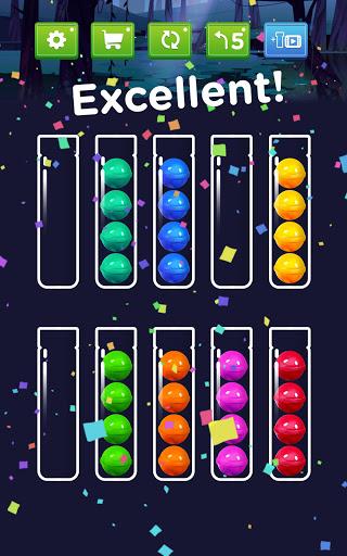 Ball Sort - Color Ball Puzzle & Sort Color 1.1.1 screenshots 24