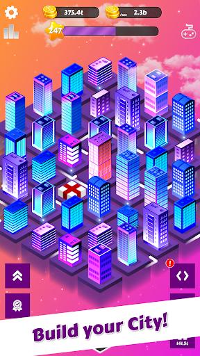 Merge City: idle city building game  screenshots 1