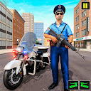 Police Moto Bike Chase Crime Shooting Games